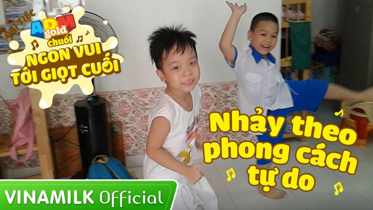 Đại tiệc ADM Gold Chuối – Cặp đôi Bo & Piu nhảy theo phong cách tự do [Clip Demo]