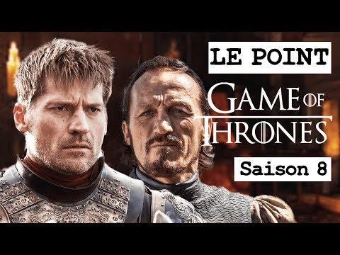 GAME OF THRONES SAISON 8 : NEWS ET FOCUS SUR JAIME LANNISTER ET BRONN ! LE POINT GOT #12