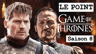 GAME OF THRONES SAISON 8 : NEWS ET FOCUS SUR JAIME LANNISTER ET BRONN ! LE POINT GOT #12