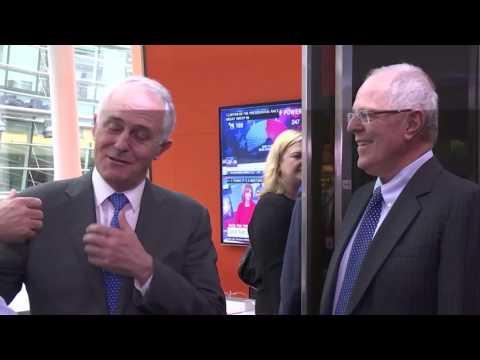 Visita a la sede central de Bloomberg en Nueva York