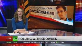 Washington, DC buses thank Snowden for his leaks