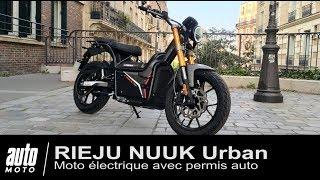 Moto électrique RIEJU NUUK Urban Essai POV AUTO-MOTO.COM
