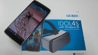 Unboxing Alcatel IDOL 4s Windows 10