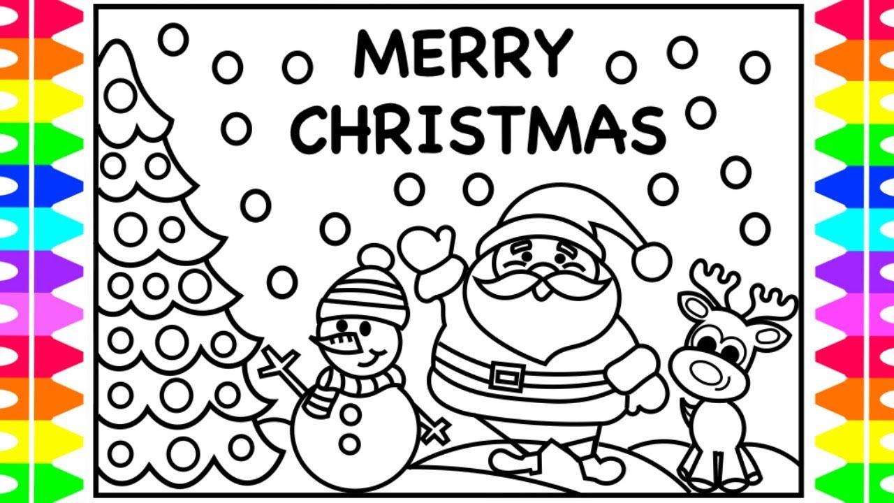 MERRY CHRISTMAS EVERYONE! Christmas Coloring Pages for ...   christmas coloring pages for preschoolers