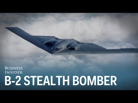 The B-2 Spirit Stealth Bomber