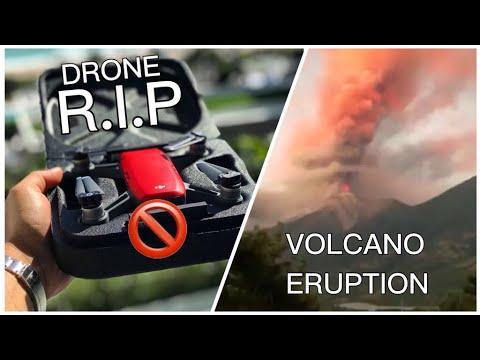 **DRONE CRASH** + **VOLCANIC ERUPTION** IN GUATEMALA!!