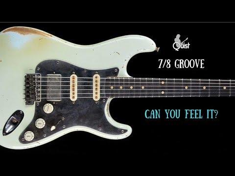 Jazz Funk Backing Jam Track   7/8 Groove   B Dorian