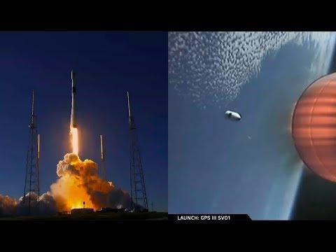 Falcon 9 launches GPS III SV01