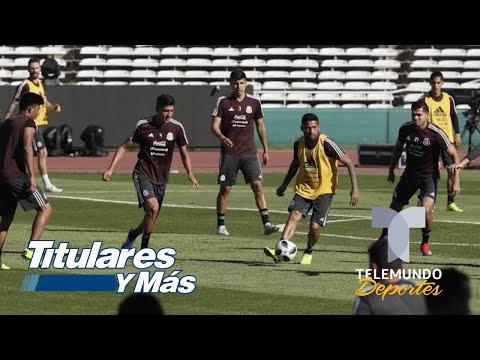Argentina Y México Confirman Sus Alineaciones   Telemundo Deportes