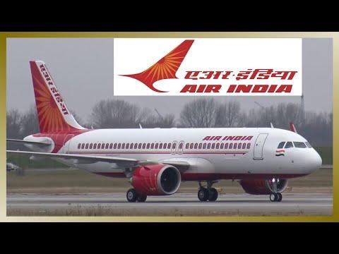 Brand-new AIR INDIA Airbus A320NEO   Landing at Hamburg Finkenwerder Airport