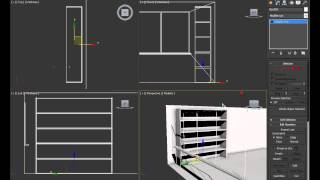 3d max - создание интерьера.Урок 1