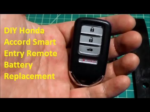 Diy Honda Smart Entry Key Remote Battery Replacement