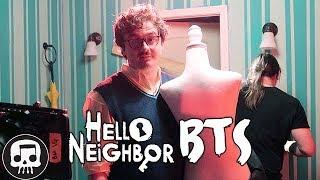 Hello Neighbor Rap Music Video - Behind the Scenes