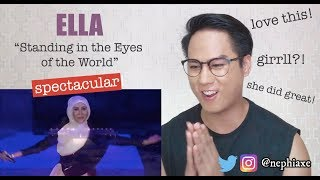 Download Lagu Ella - Standing in the Eyes of the World (Closing Ceremony 29th SEA Games) HD | REACTION mp3