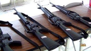 M16步槍u0026 90手槍射擊訓練
