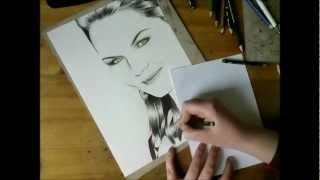Jennifer Morrison Drawing