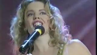 Kylie Minogue - Never Too Late, Live at the Smash Hits Poll Winners Party, 1989