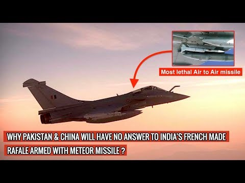 INDIA HAS ASKED FRANCE TO ARM THE FIRST FOUR RAFALE FIGHTERS WITH THE METEOR AIR-TO-AIR MISSILES !