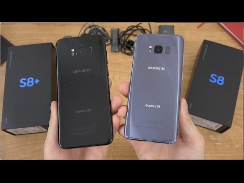 Samsung Galaxy S8 and S8+ Dual Unboxing!