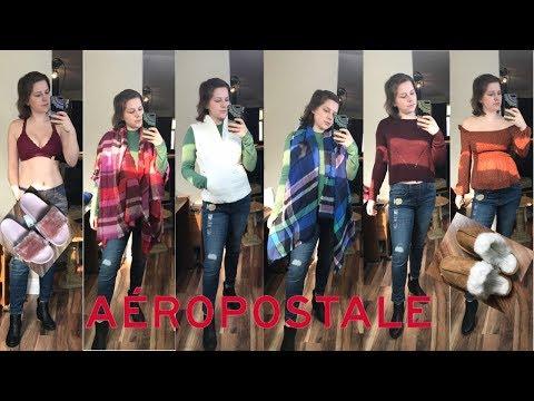 HUGE SALE Aeropostale Haul + Try-On