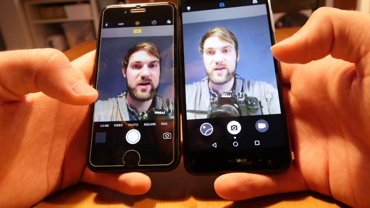 IPHONE 7 PLUS VS P9 LITE