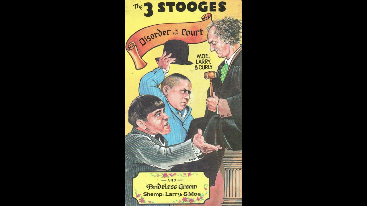 The Three Types Of Totalitarian Systems: Opening To The Three Stooges:Disorder In The Court