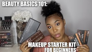 Video Makeup Starter Kit for Beginners  | WOC Friendly download MP3, 3GP, MP4, WEBM, AVI, FLV Januari 2018