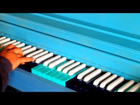 Painting Piano Keys
