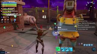 Fortnite Get Resources from Giant Llama Skill Pathfinder Jess