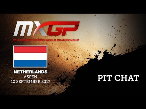 MXGP Of The Netherlands - Assen 2017  Pit Chat With Hunter Lawrence