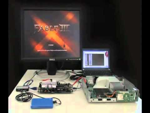 X360Key Prototype Running AP2.5 Protected Game For Xbox 360 Fat And Slim