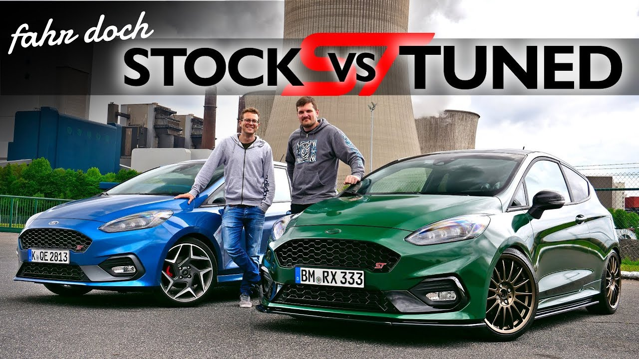 ford fiesta st 2019 mit p1tv stock oder tuned welcher ist der bessere fahr doch youtube. Black Bedroom Furniture Sets. Home Design Ideas