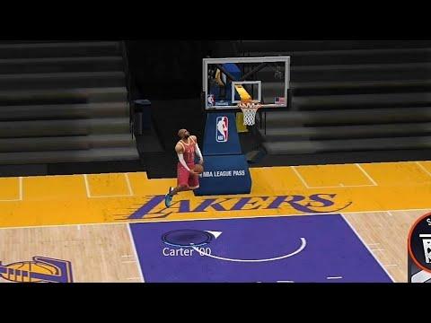 "NBA LIVE - 卡特""特殊灌籃""練習場,各個角度捕捉完美畫面😍"
