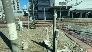 「1080p60fps」JR常磐線 特急ときわ66号品川行車窓(右側) 勝田→品川