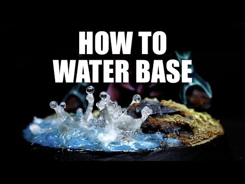 How to make water effect bases for Idoneth Deepkin