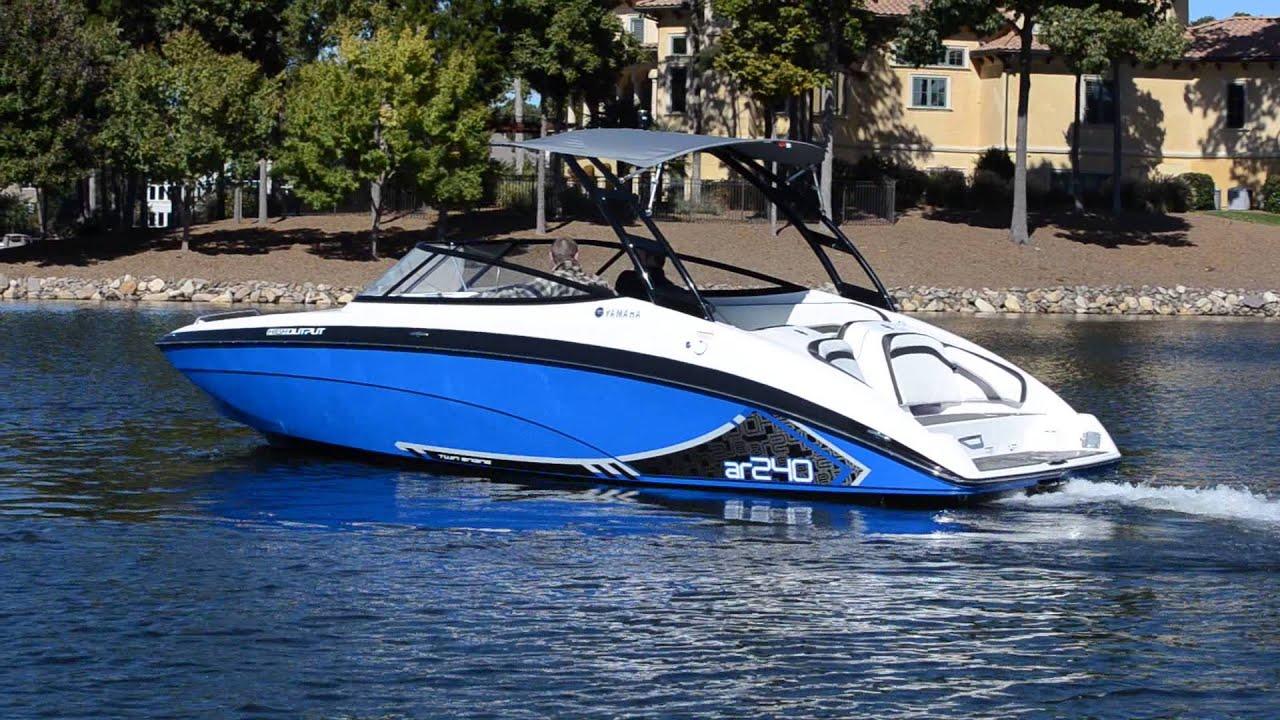 лодка ямаха 240