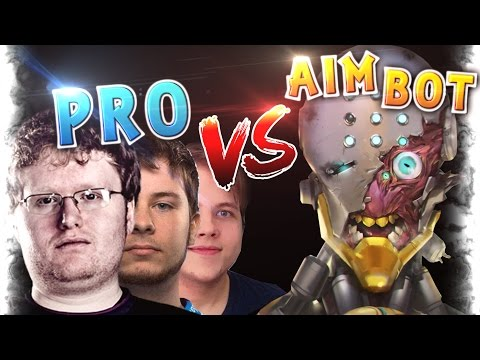 Pro Players vs Aim Botters MONTAGE Ep.1 | Overwatch Seagull, Taimou and Surefour vs CHEATERS