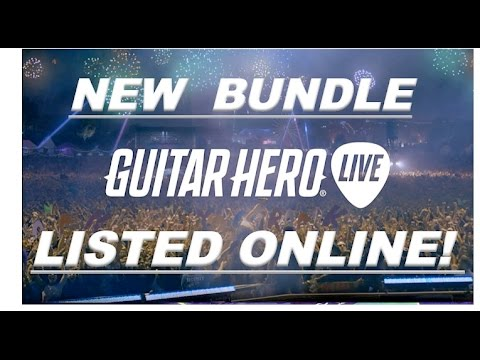 Guitar Hero Live News: New Bundle Listed Online?
