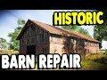 HISTORIC CLASSIC BARN & Farmstead Repairs | Farmer's Dynasty Gameplay 4
