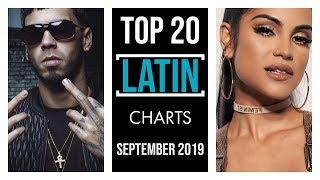 TOP 20 LATIN CHARTS ♫ SEPTEMBER 2019