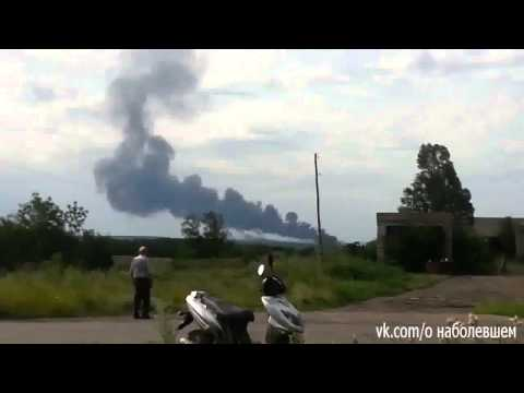 Alleged MH17 Crash Site In Russia Ukraine Sighted (Leak Video Footage)