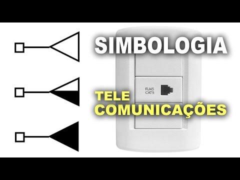 Tomadas de comunicação e dados - Simbologia elétrica!