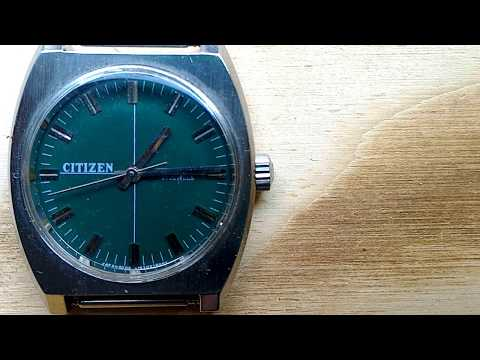 Citizen vintage handwind movement 17 jewels