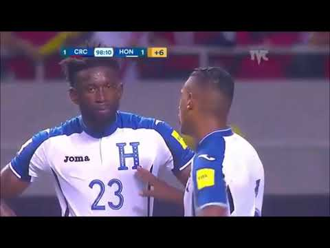 EMOTIVO Radio MONUMENTAL Gol de Kendall Waston Costa Rica 1  HONDURAS 0