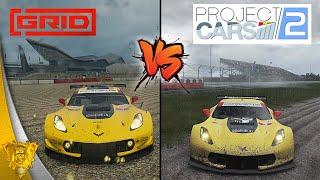 сравнение GRID 2019 и Project Cars 2