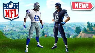 NEW Fortnite NFL Skins! - Fortnite Battle Royale NFL Skins (New NFL Skins In Fortnite)