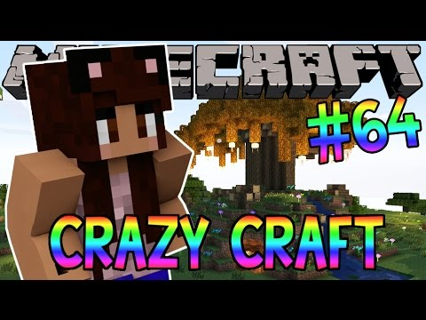 Minecraft: YouTuber Survival #64 - New House? (Minecraft Crazy Craft 3.0 SMP)