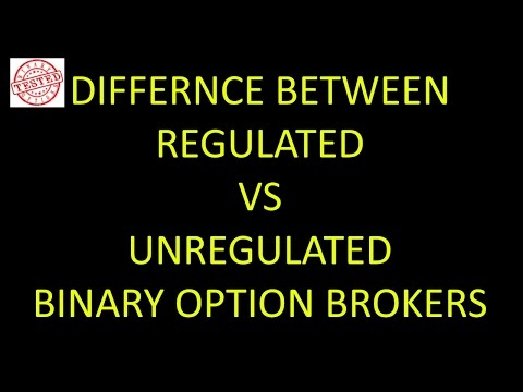 Regulated Binary Options brokers