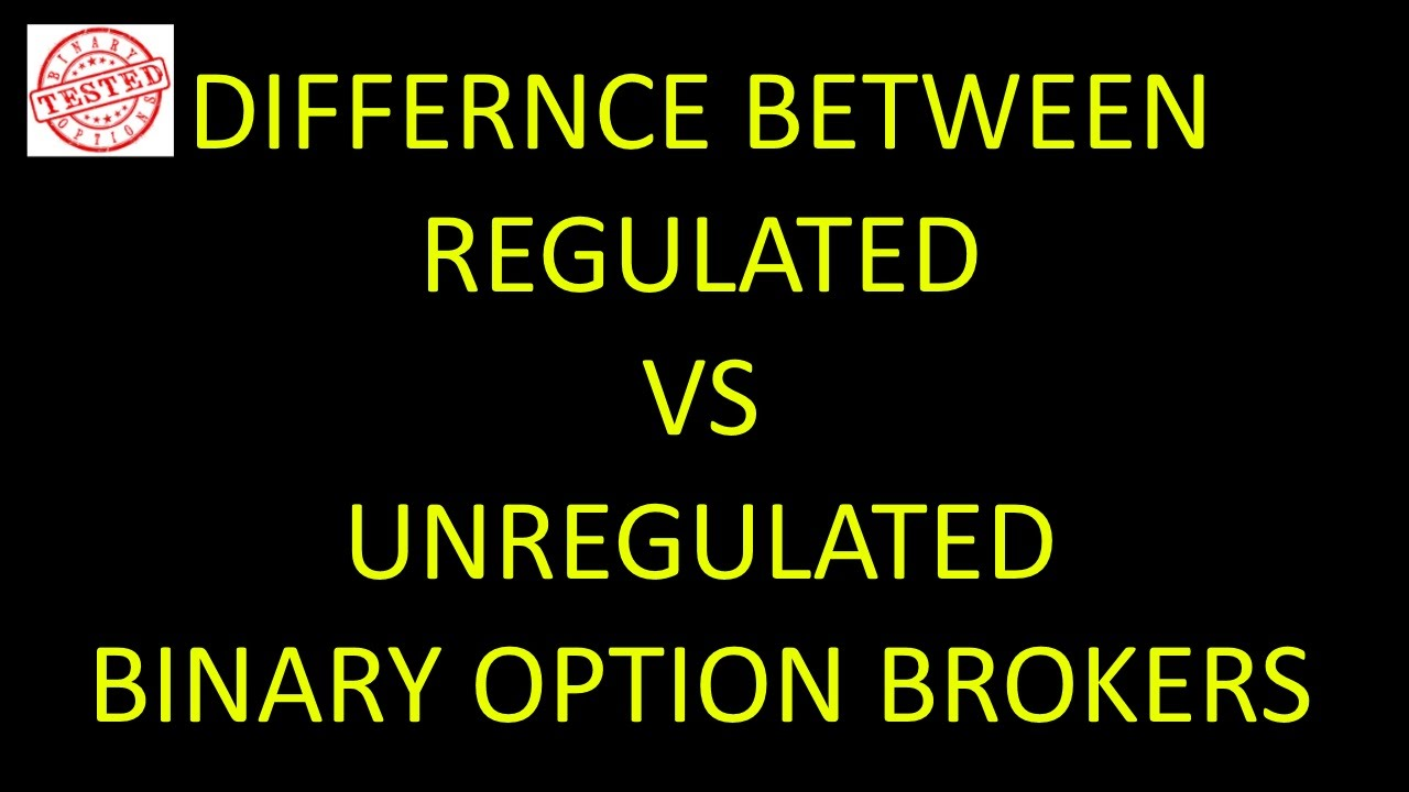 regulated binary options brokers 2018
