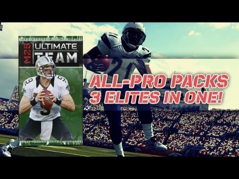 Madden 25 Ultimate Team : All-Pro Pack Opening | 3 Elites in ONE PACK!